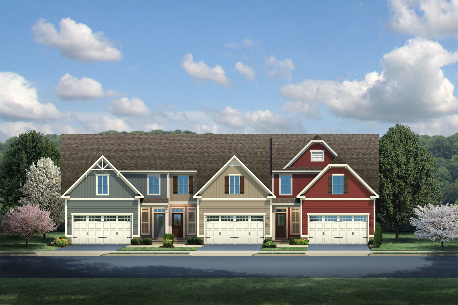 New Homes For Sale At Villas At Braden Townes In