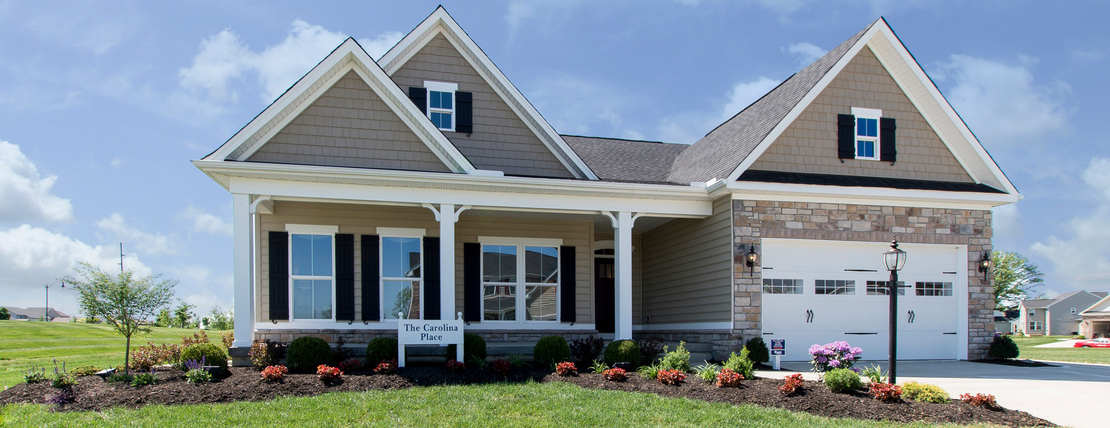 New homes for sale at the glens at ballantrae in dublin oh for Home builders ohio