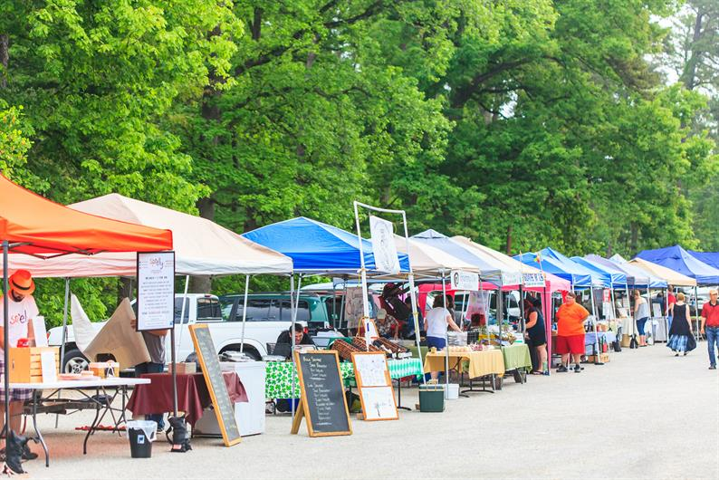 Pick up local produce and more at the farmers market