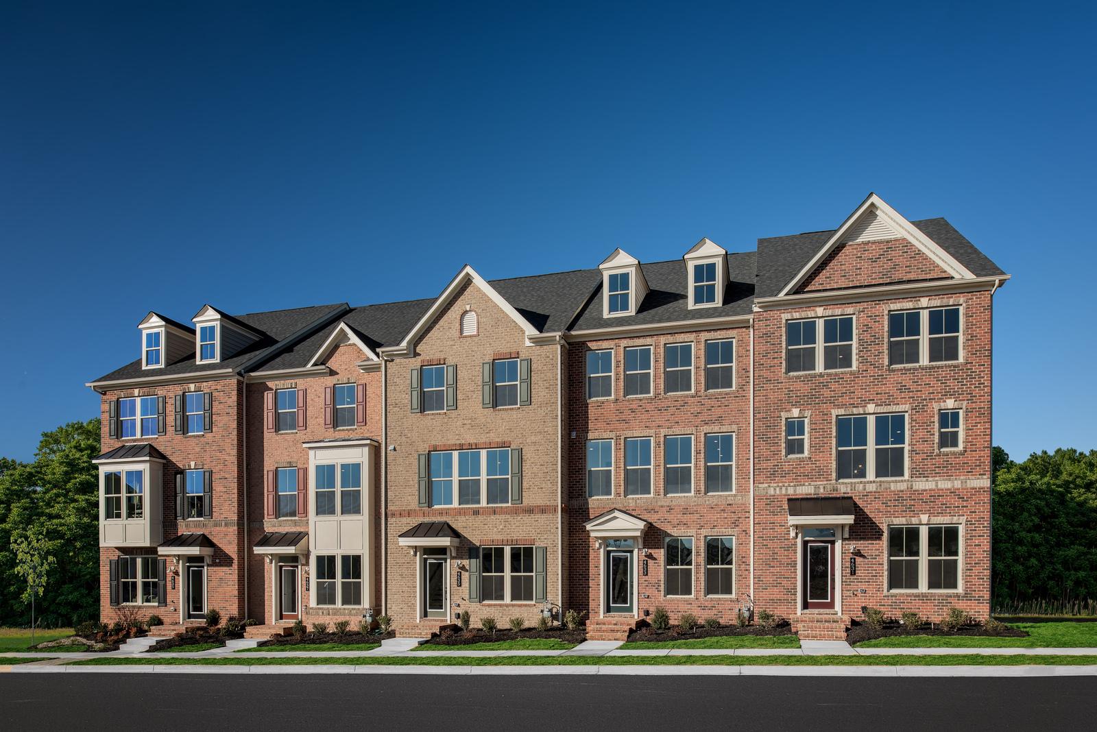 New Van Dorn Home Model at Landsdale Urbana in MD | NVHomes