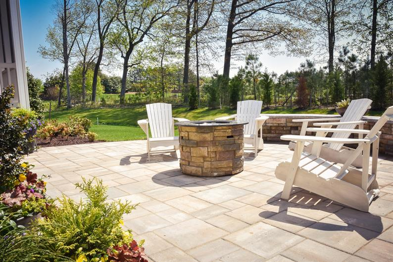 Beautiful backyards backing to pond or trees