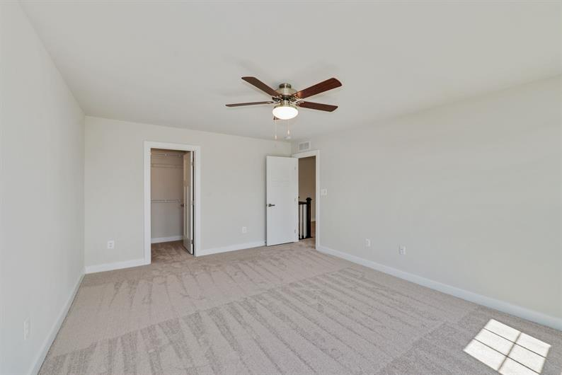 OWNER'S SUTE WITH CEILING FAN