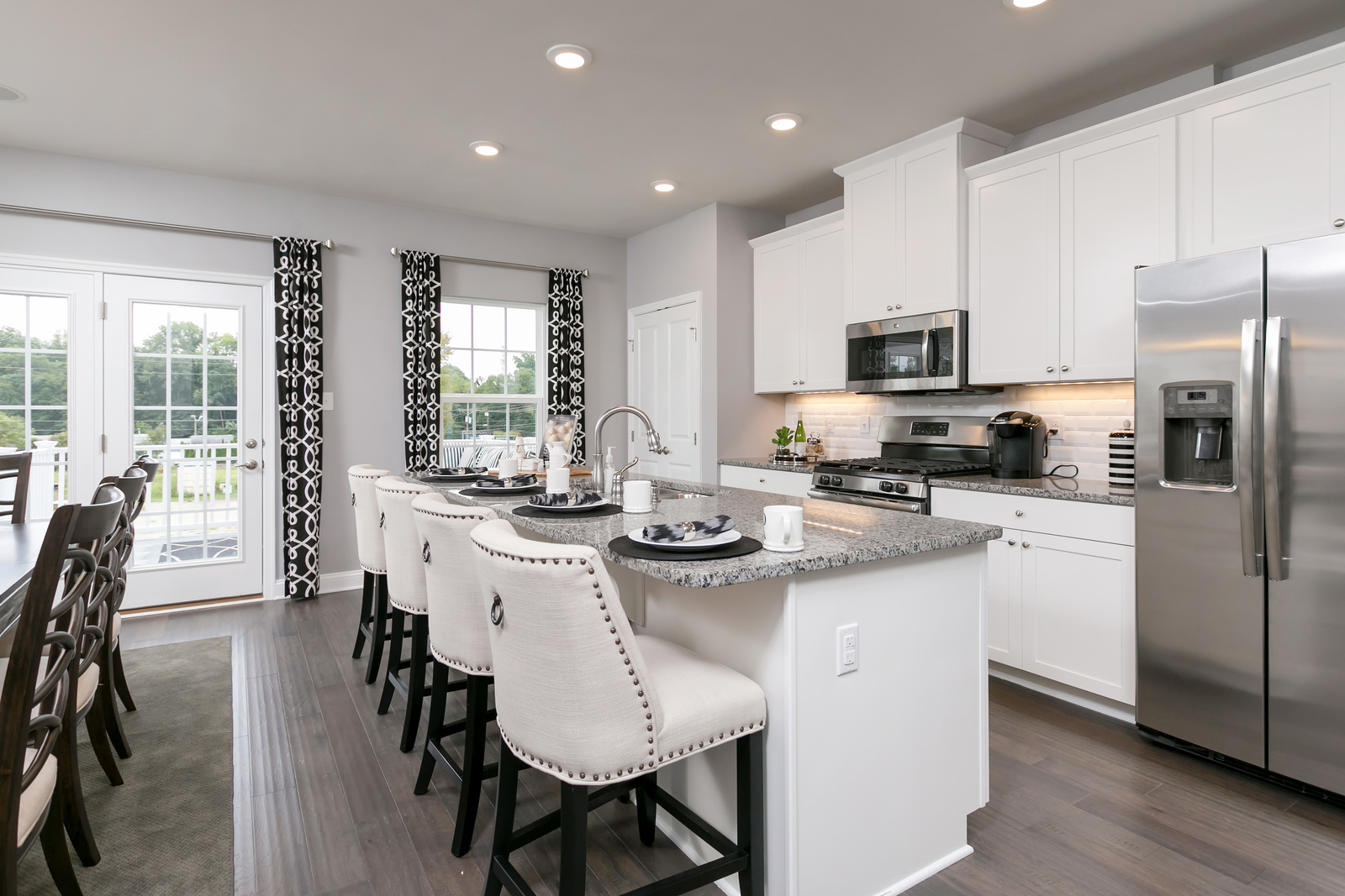 New Mozart2 Townhome Model For Sale At Riverwood Chase In Toms River, NJ