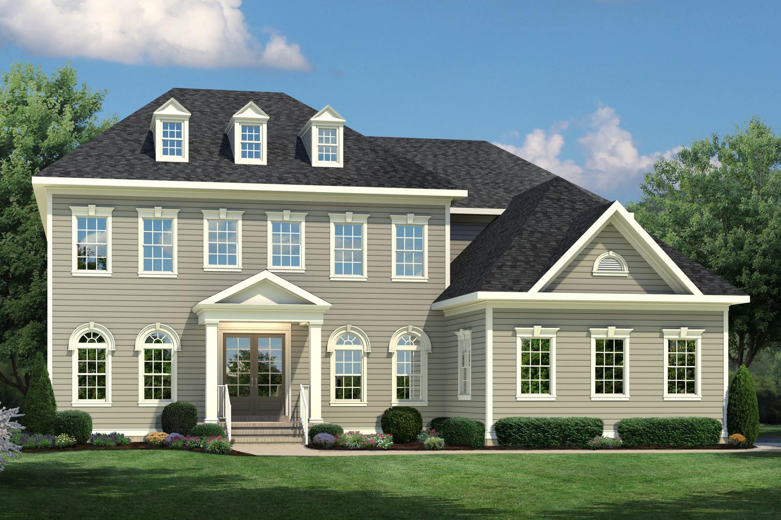 new regent u0027s park ii home model at willowsford estates at the