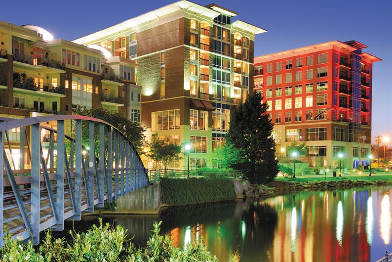 Be in Downtown Greenville in 20 minutes