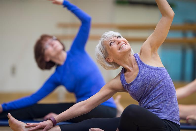 Enjoy yoga, strength workouts, and more at the local YMCA