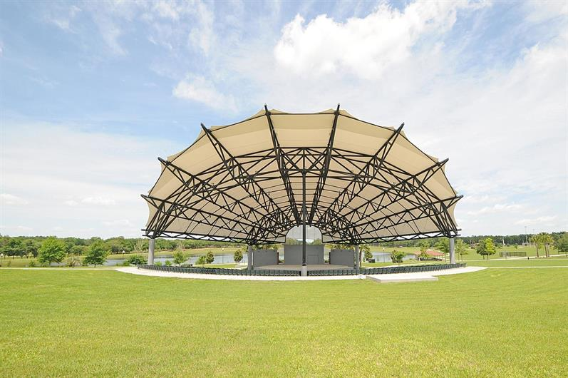 Get to know Apopka's Amphitheater within walking distance to the Northwest Recreation Complex!