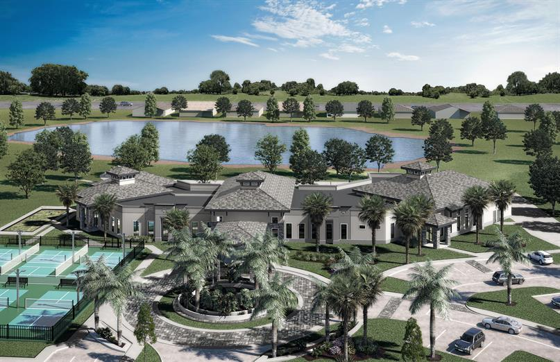 24,000 Square Foot Clubhouse at The Falls