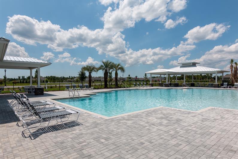 Enjoy The Florida Sunshine at the Community Pool