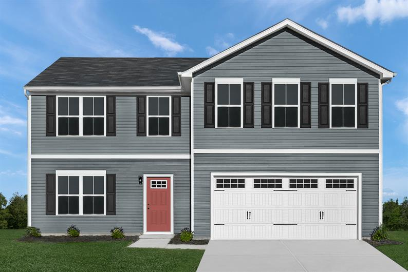 2-CAR ATTACHED GARAGE AND FULL BASEMENT FOR STORAGE SOLUTIONS