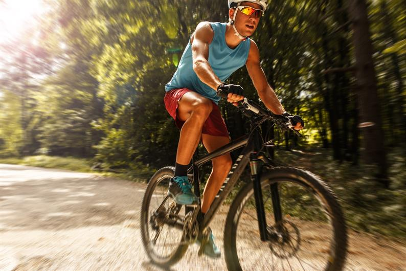Nearly 30 miles of biking trails at your doorstep