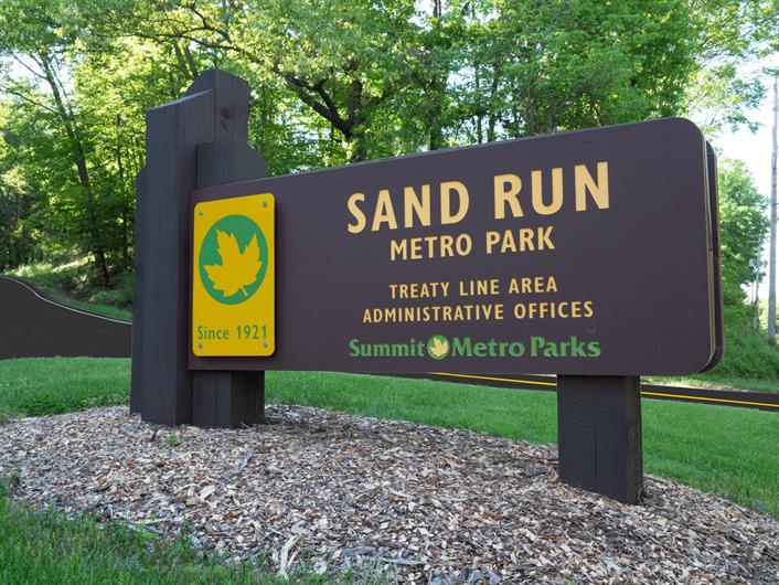 BIKE, HIKE, OR ENJOY THE FRESH AIR AT NEARBY SAND RUN METRO PARK