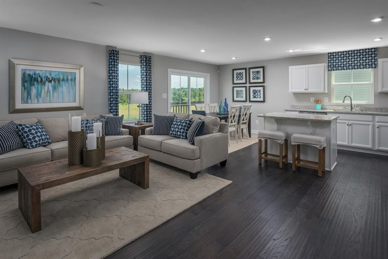 Host friends and family in your spacious new home