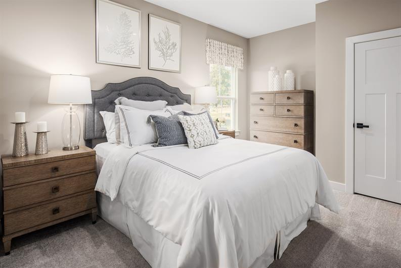 Optional First Floor Bedrooms with Full Bathrooms