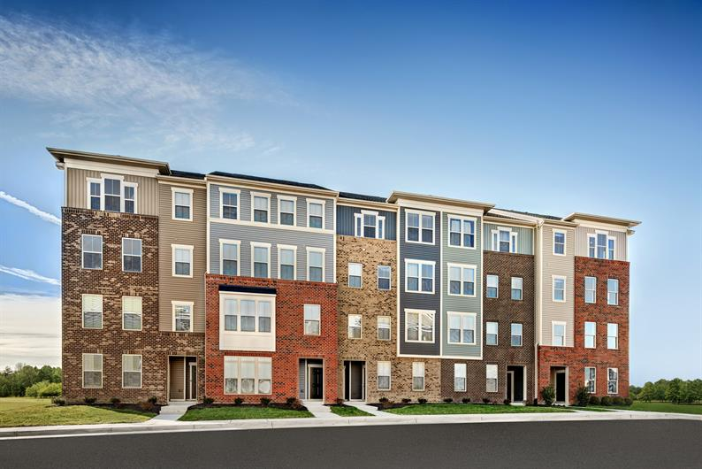 2-story Garage Townhome-style condos