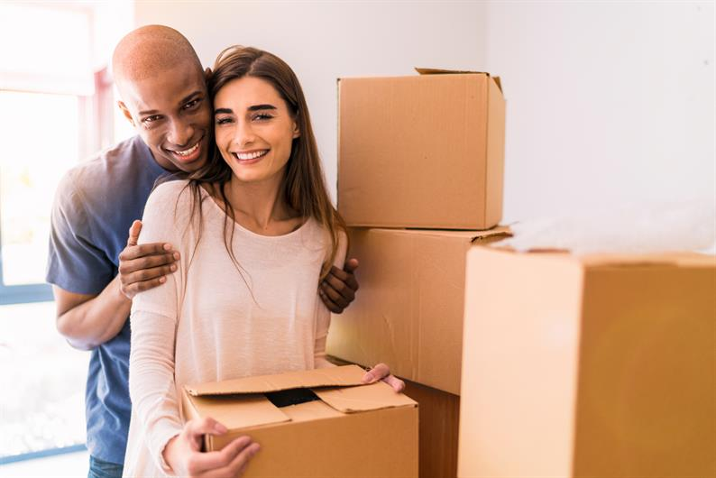 MOVING INTO YOUR NEW HOME IS EASY.