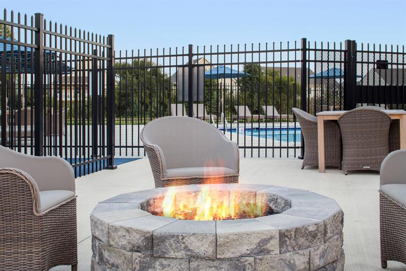 Neighbors will become friends around the community fire pit