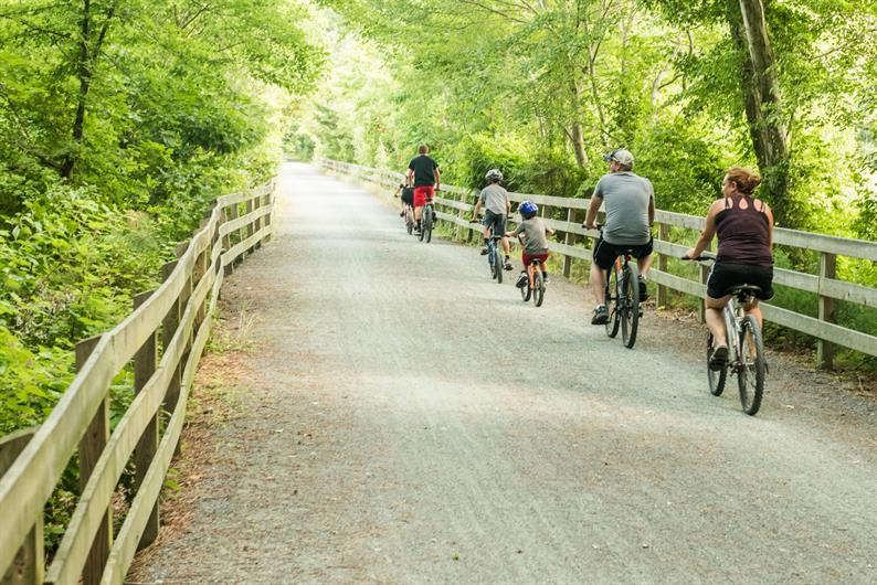 Easy Access to the Pinellas Trail