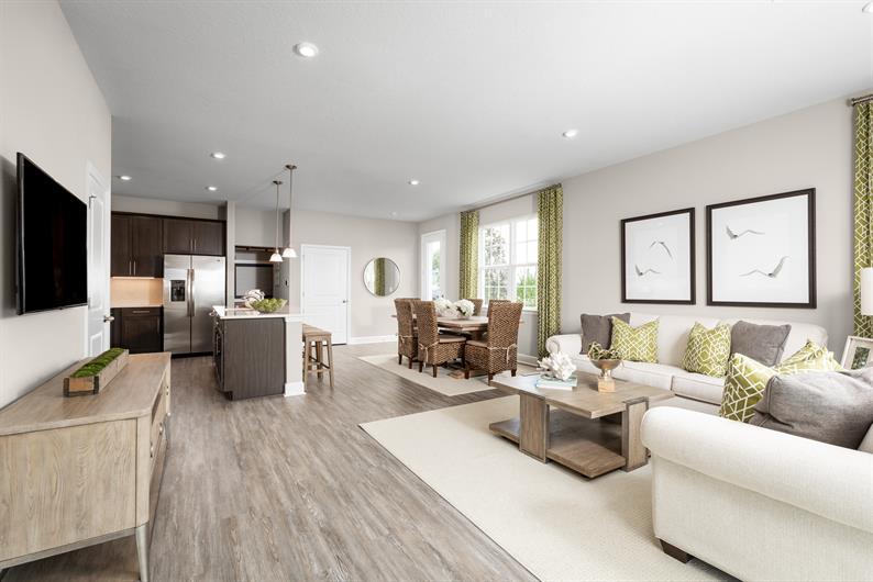 Bright, Open Floorplans at Holden Ridge's Townhomes