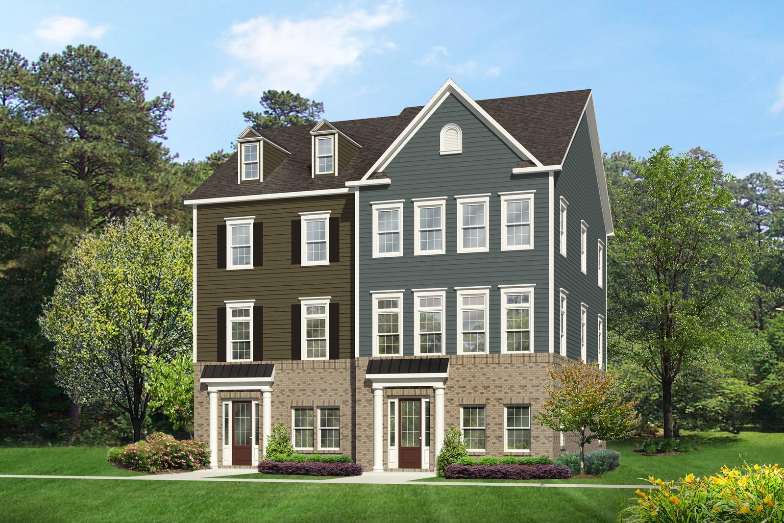 Heartland Homes Floor Plans New John Jacob Astor Bsmt Level Entry Home Model For