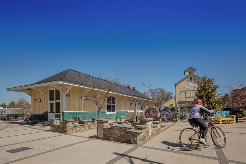 Stay active with the nearby W&OD tRAIL
