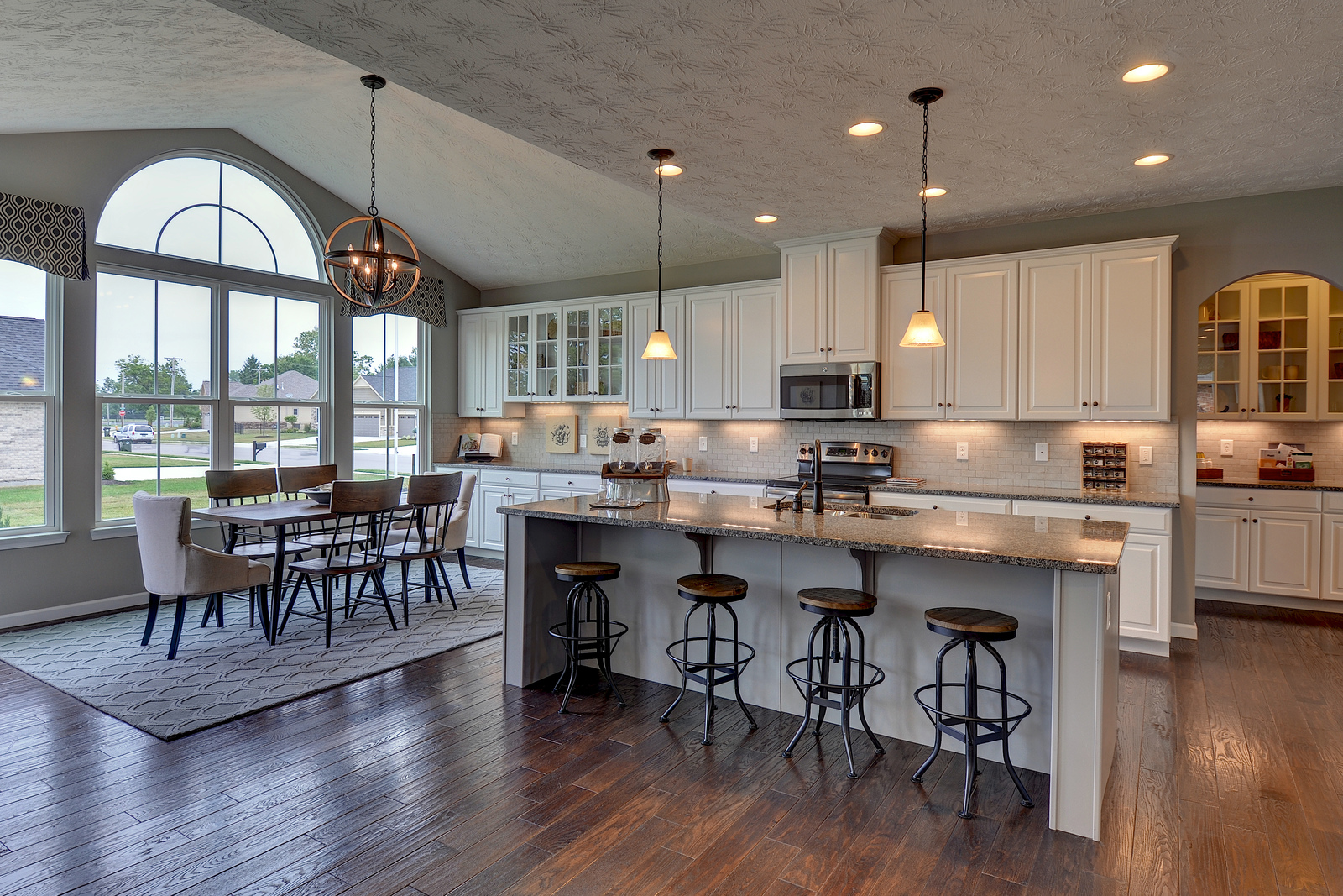 New homes for sale at dover highlands in medina oh within for Kitchen morning room designs