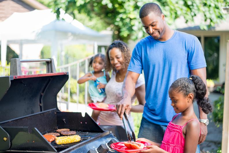 Host a Family BBQ in the Backyard