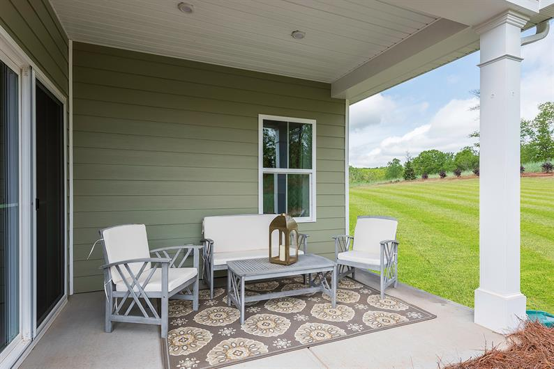Relax and enjoy on your covered porch