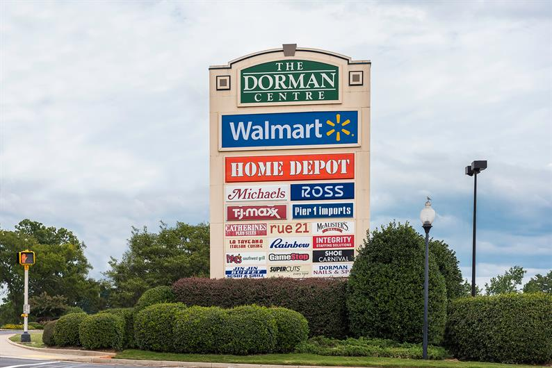 Run errands quickly at the Dorman Shopping Centre