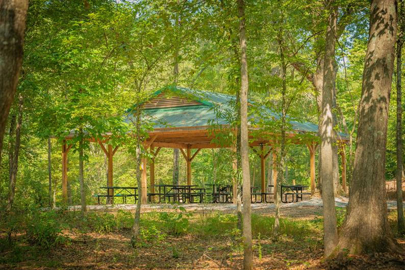 The perfect picnic pavilion is right in the community!