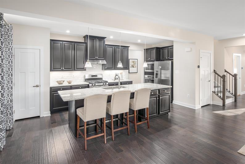 Have an open luxurious kitchen