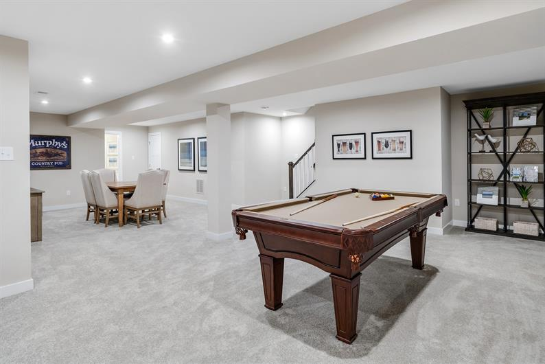 Include a basement in your new home!