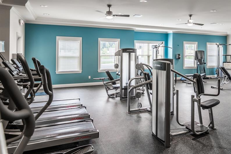 Get your Fitness on with 1 of the 2 Fitness Centers in the Clubhouse!