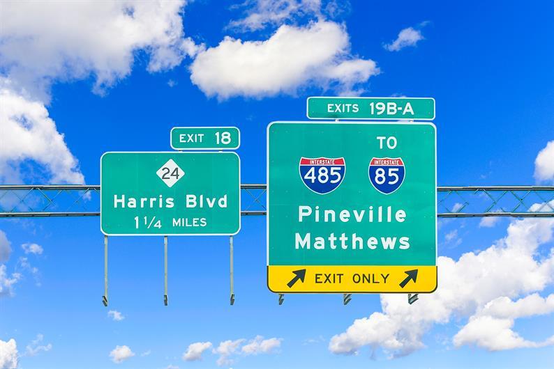 Located Close to I-485 and I-77