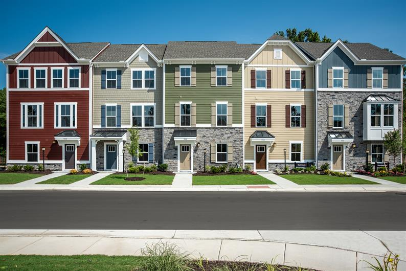 Beautiful streetscape, but hurry, there's only 1 home left!