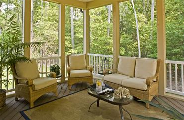 Bornquist Resort Screened Porch