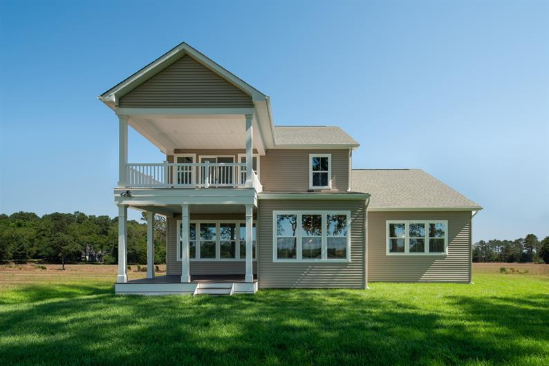 Back porches are available on all of our homesites