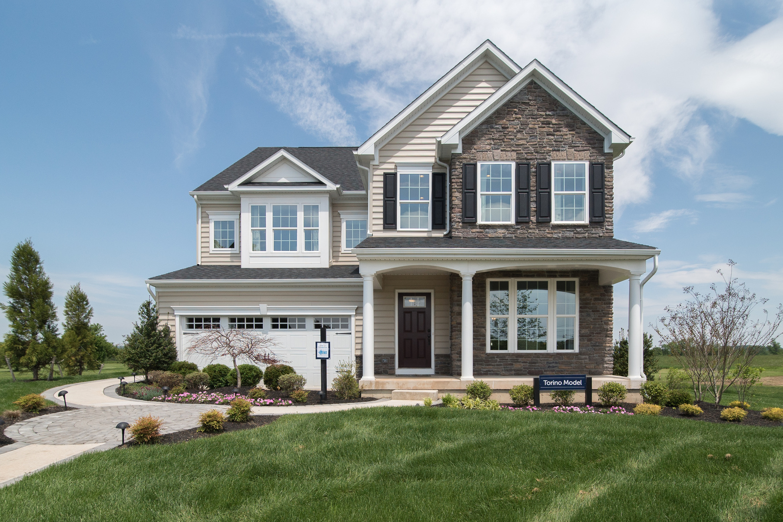 New homes for sale at virginia manor single family homes for Family home builders