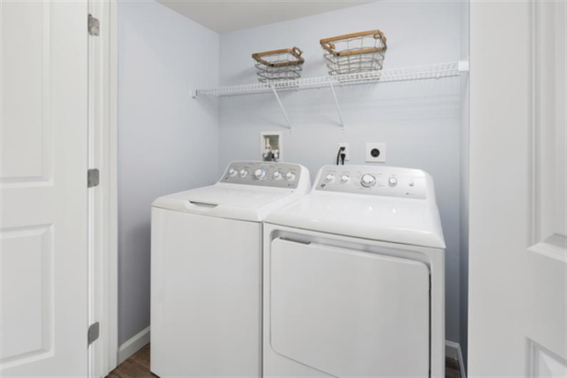 All appliances come included, so no need to save for those big ticket items