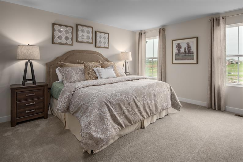 Owner's Suite with an En Suite Bath and Spacious Walk-In Closet