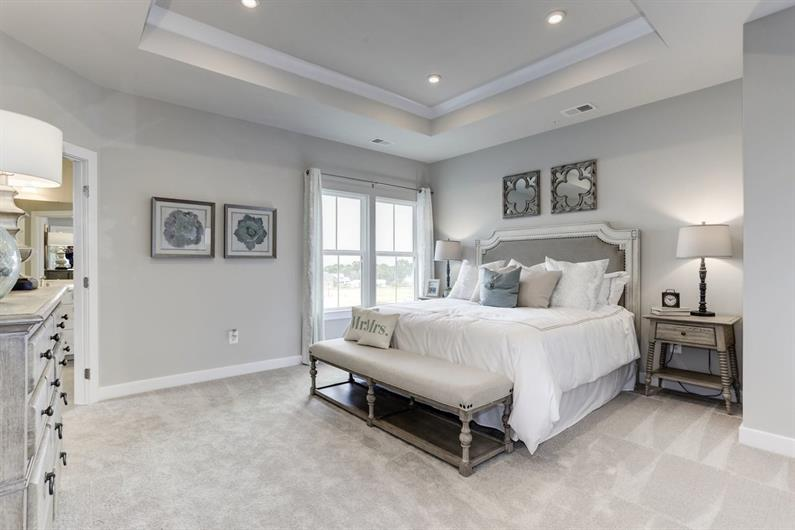 WIND DOWN IN A SPACIOUS OWNER'S SUITE