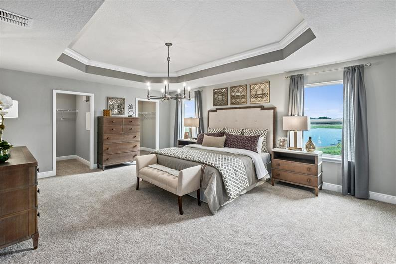 Start Relaxing In Your Spacious Owner's Suite