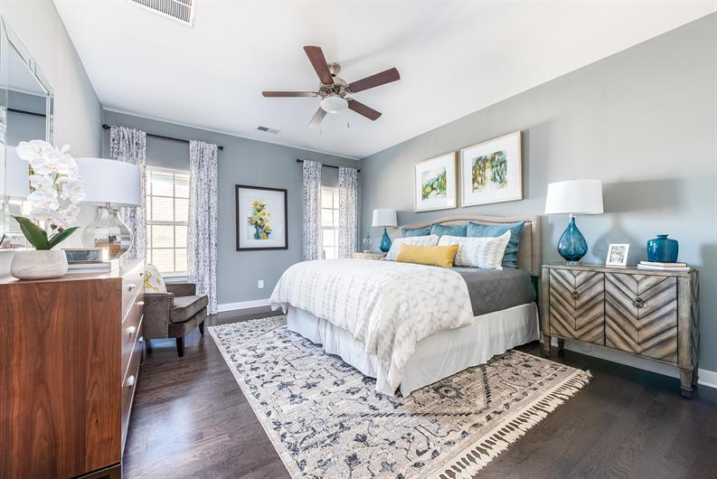 Townhomes with 1st Floor Owner's Suites