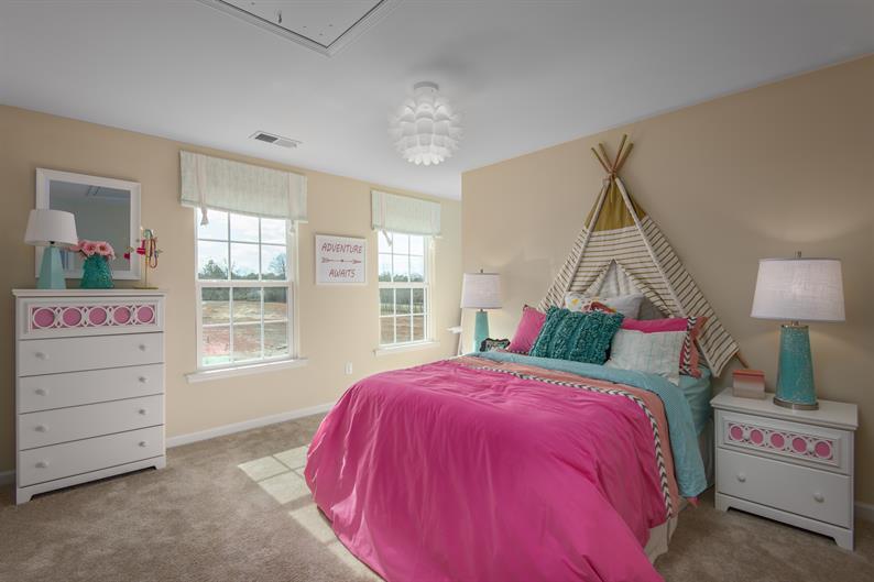 No more sharing bedrooms