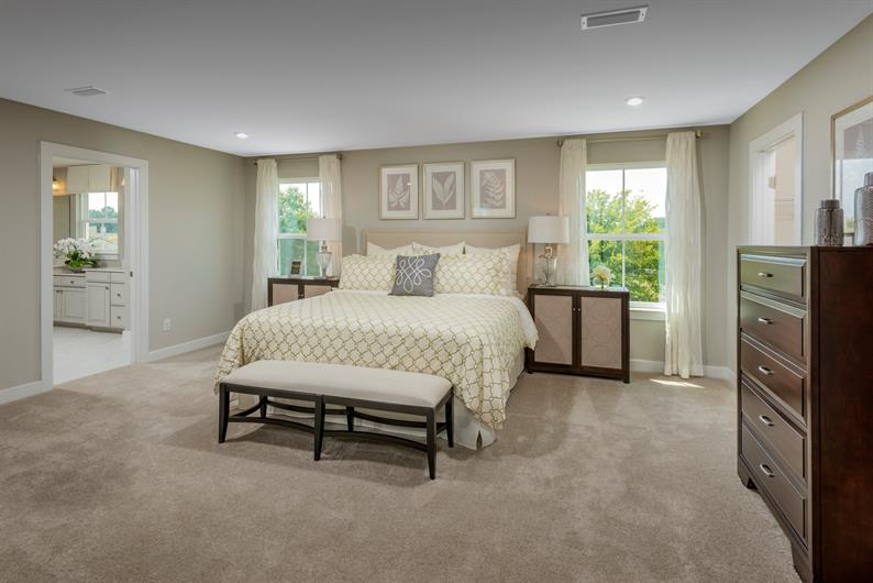 Choose a Main or Upper Level Owner's Suite