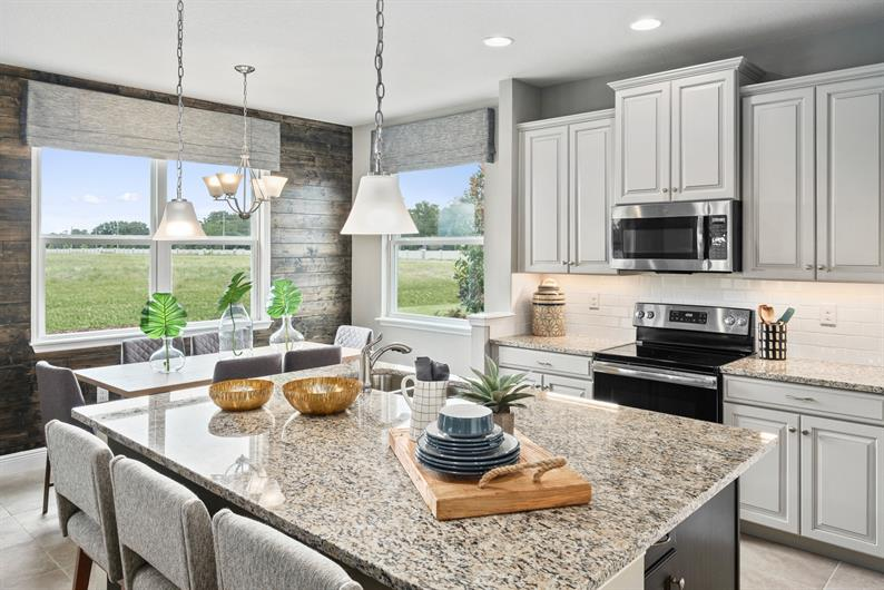 Let The Light In With This Spacious Kitchen