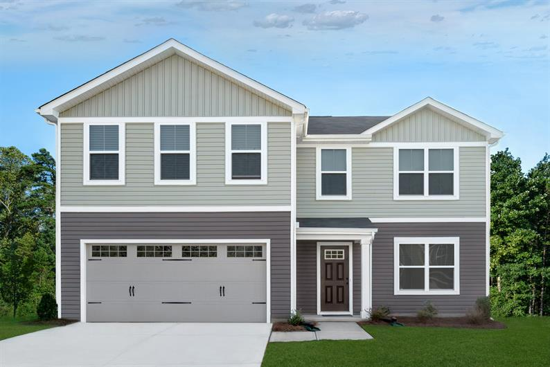 Own a new home for the same or less than rent in Mauldin. From the $190s.