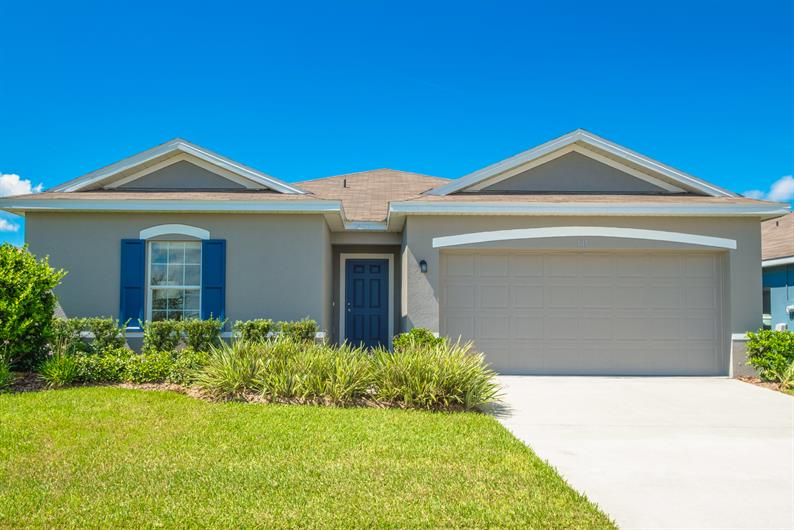 New Homes in Orchid Terrace in Haines City, FL
