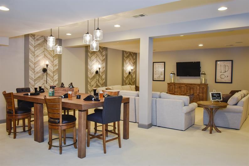 All homesites accommodate basements
