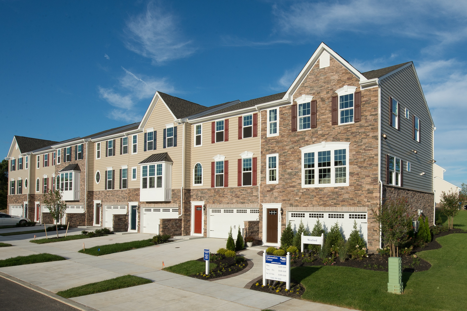 New Homes For Sale At High Hook Farms Townhomes In